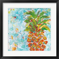 Framed Pineapple Bright