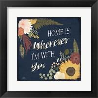 Framed Autumn Romance VIII