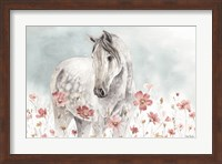 Framed Wild Horses I