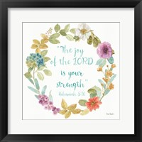 Framed Rainbow Seeds Proverb I