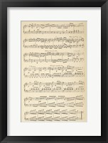 Framed Musical Notes II