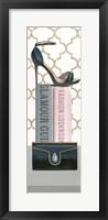 Forever Fashion III Panel Framed Print