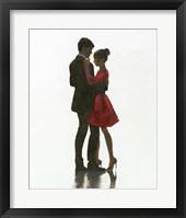 Framed Embrace II Red Dress