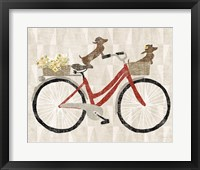 Framed Doxie Ride ver I Red Bike