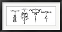 Framed Corkscrew Collection