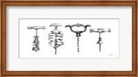 Framed Corkscrew Collection
