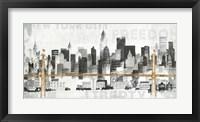 Framed New York Skyline II