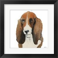 Framed Oberon Watercolor