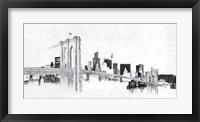 Framed Skyline Crossing Silver
