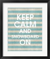 Framed Snowboard On Part II