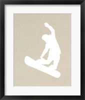 Framed Snowboard On Part III