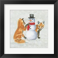 Christmas Critters V Framed Print