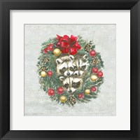 Christmas Critters II Framed Print