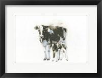 Framed Cow and Calf Light