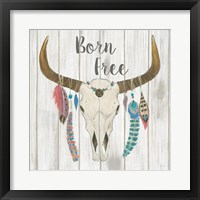 Framed Bohemian Rising I no Border Born Free