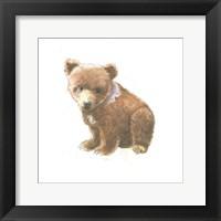 Framed Into the Woods Bear Cub