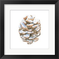 Framed Into the Woods Pinecone I
