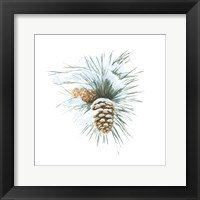 Framed Into the Woods Pinecone II