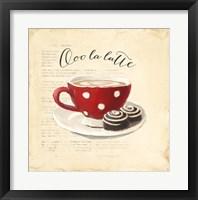 Ooo La Latte Framed Print