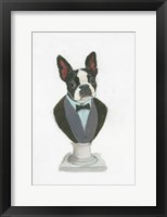 Canine Couture I Framed Print
