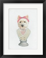 Canine Couture II Framed Print