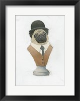 Canine Couture III Framed Print