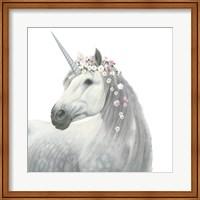 Framed Spirit Unicorn II Square