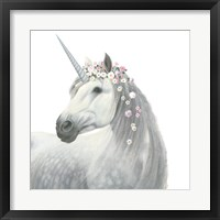 Framed Spirit Unicorn II Square