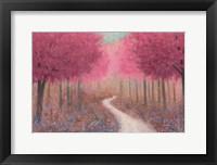 Framed Forest Pathway Spring