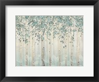 Framed Dream Forest I Silver Leaves