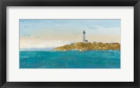 Framed Lighthouse Seascape I v.2
