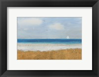 Framed Beach Horizon