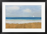 Framed Beach Horizon