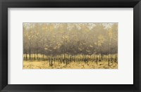 Framed Golden Trees III Taupe