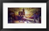 Framed Castle Gold