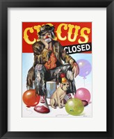 Framed Circus Closed