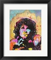 Framed Jim Morrison 3