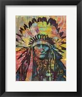 Framed Native American II