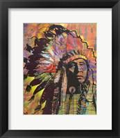 Framed Native American III