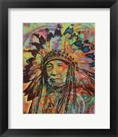 Framed Native American V