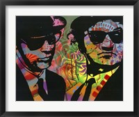 Framed Blues Brothers