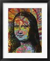 Framed Mona's Portrait