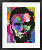 Framed Abraham Lincoln I