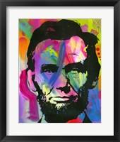 Framed Abraham Lincoln I