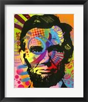 Framed Abraham Lincoln II