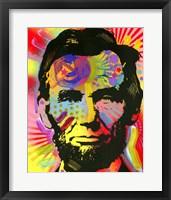 Framed Abraham Lincoln III