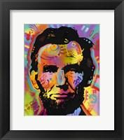 Framed Abraham Lincoln IV