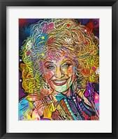Framed Dolly Parton