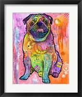 Framed Pug