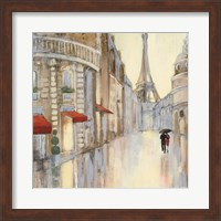 Framed Touring Paris Couple III